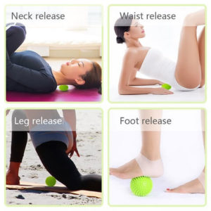 Massage Ball can be used for all the body