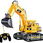 Remote controlled excavator