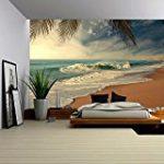 Wall mural Beach