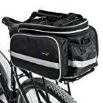 Bicycle basket luggage rack