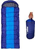 Synthetic sleeping bag