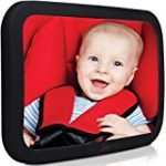 Rear seat mirror for baby