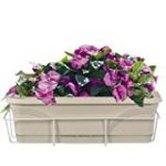 Flower box with holder