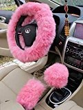 Steering wheel cover fur