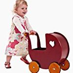 Wooden doll carriage